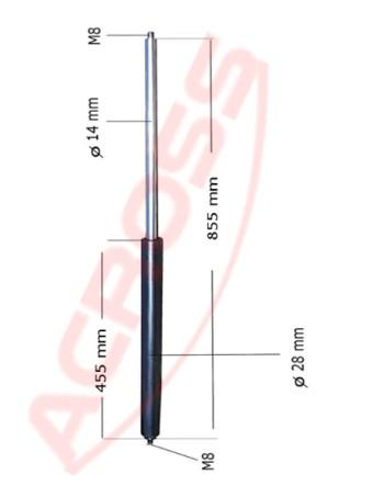 750N 855mm P210264